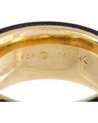 Heritage Van Cleef & Arpels - Metallic Van Cleef & Arpels 18k 0.13 Ct. Tw. Diamond & Onyx Ring - Lyst