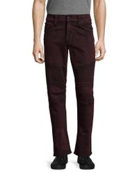 True Religion Multicolor Motorcycle Slim Fit Pant for men