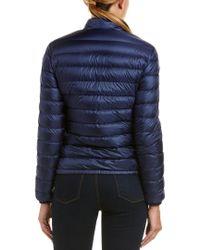Moncler Blue Lans Down Jacket