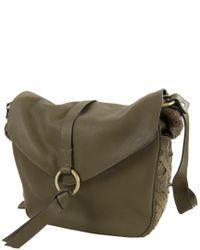 Nanette Lepore - Green Aspen Iii Colorblock Leather & Suede Hobo - Lyst