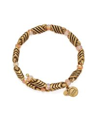 ALEX AND ANI Metallic Depths Of The Wild Forest's Blessing Wrap Bracelet