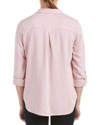 Kut From The Kloth Pink Shirt