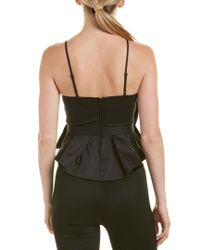 C/meo Collective - Black Collective Little World Peplum Top - Lyst