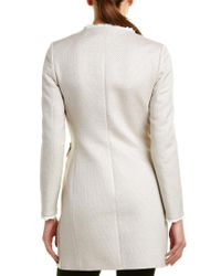Cinzia Rocca Gray Icons Tailored Trench Coat