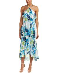 Cece by Cynthia Steffe Blue Maxi Dress