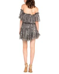 Dance & Marvel Gray Dress
