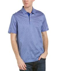Canali Blue Polo for men