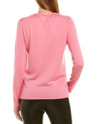 Zadig & Voltaire Pink Gwendal Wool Sweater