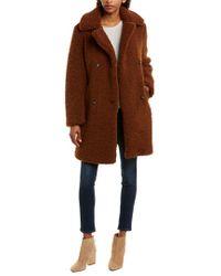 Mkt Studio Red Madime Teddy Bear Coat