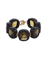 Roberto Coin - Multicolor 18k Rose Gold Citrine Bracelet - Lyst
