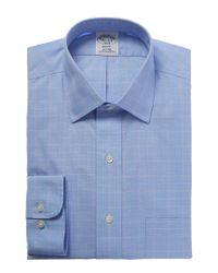Brooks Brothers Blue Regent Fit Dress Shirt for men