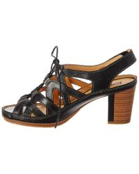 Pikolinos - Black Java Leather Sandal - Lyst