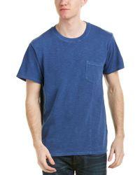 Life After Denim Blue Life/after/denim Pocket T-shirt for men
