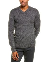 Theory Gray Hilles Cashmere Sweater for men