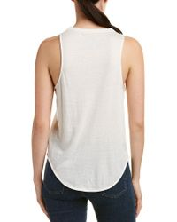 Chaser White Graphic Tank