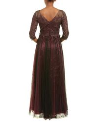 Kay Unger Red Gown