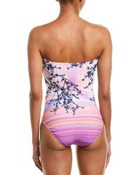 Gottex Pink Hanami One-piece