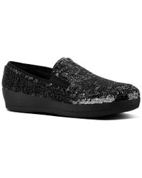 Fitflop - Black Superskate Slip-on - Lyst
