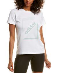 Adidas White T-shirt