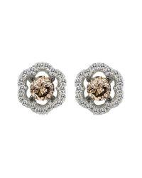 Le Vian Metallic ? Grand Sample Sale 14k Vanilla Gold? 0.44 Ct. Tw. Diamond Earrings