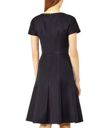 Reiss Black Hallie Dress