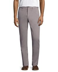 Jack Spade - Gray Slim Fit Twill Chino for Men - Lyst