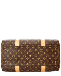 Louis Vuitton Brown Monogram Canvas Carryall