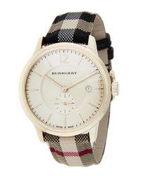 Burberry Metallic Unisex Swiss Watch for men