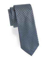 Saks Fifth Avenue - Green Tetris Silk Tie for Men - Lyst