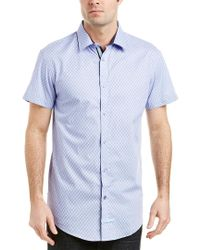 English Laundry Blue Woven Shirt for men