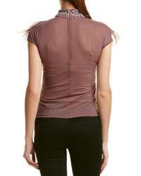 Gracia Purple Top