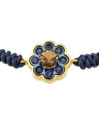 Tous - Blue View 18k & Titanium Gemstone Adjustable Bracelet - Lyst