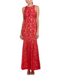 Aidan Mattox Red Gown