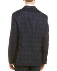 Flynt Blue Q By Bueller Classic Fit Wool Sport Coat for men