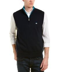 Brooks Brothers - Blue Vest for Men - Lyst