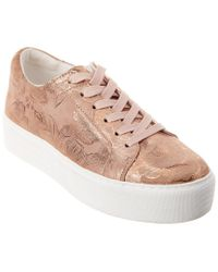 Kenneth Cole Pink New York Abbey Techni-cole Leather Sneaker