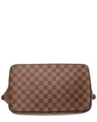 Louis Vuitton - Brown Damier Ebene Canvas Saleya Mm - Lyst