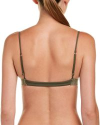 ViX Green Twisted Bikini Top