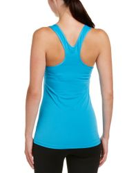 Nike Blue Pro Cool Tank Summer Graphic