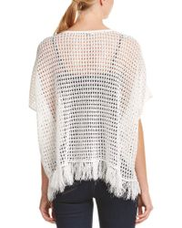Trina Turk - White Anja Linen-blend Sweater - Lyst