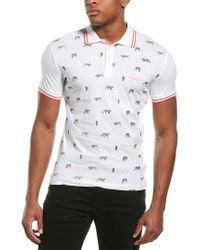 Versace Jeans White Polo Shirt for men