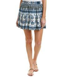 Raga Blue Caravan Mini Skirt