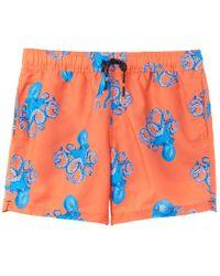 Joules Orange Heston Swim Trunk for men