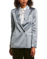 Reiss Blue Aria Casual Jacket