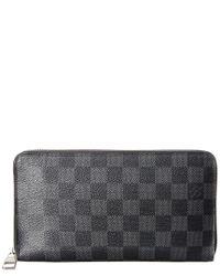 Louis Vuitton Gray Damier Graphite Canvas Zippy Organizer