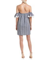 Cece by Cynthia Steffe Blue Shift Dress