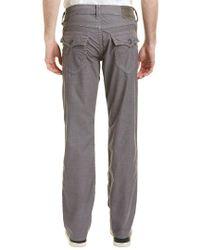 True Religion Gray Ricky Steel Grey Relaxed Straight Leg for men