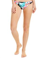 Trina Turk Pink Tropic Wave Cali Hipster Bottom