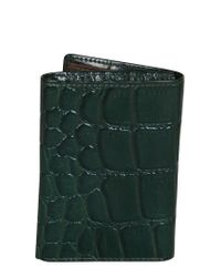 Dopp Green Buxton Delta Rfid Leather Three-fold for men