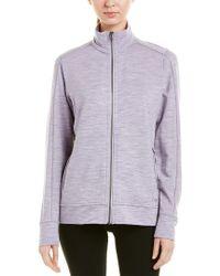 Icebreaker Purple Dia Wool-blend Jacket